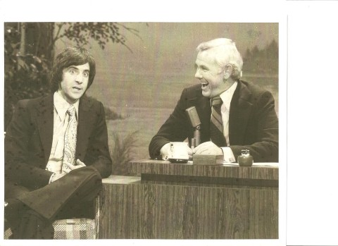 Bobby Kelton and Johnny Carson